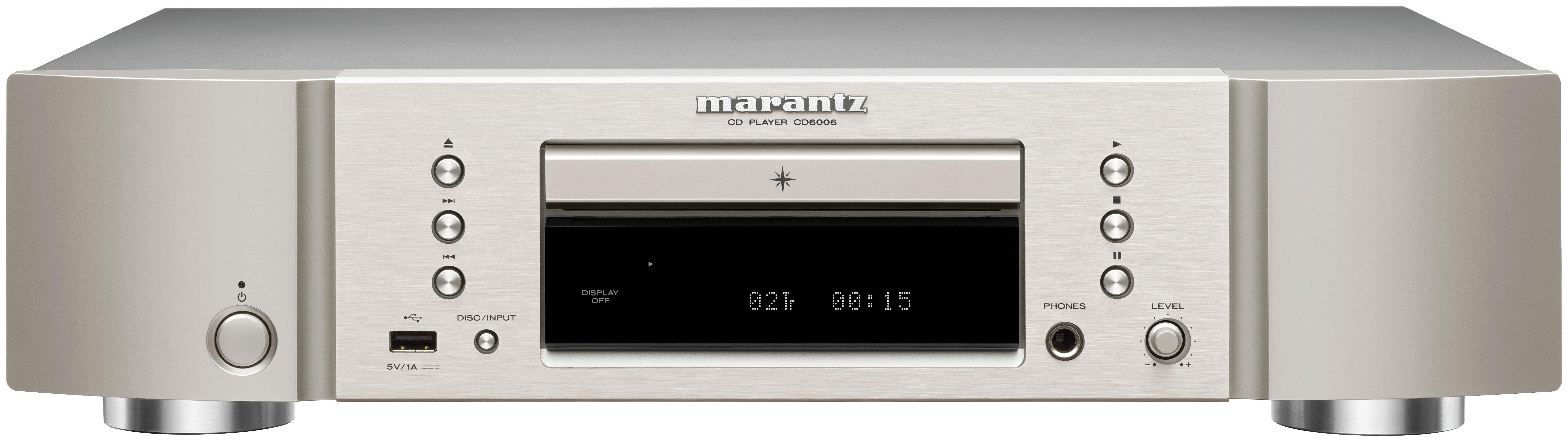 Marantz CD6006 Integrated Hi-Fi Amplifier - Gold