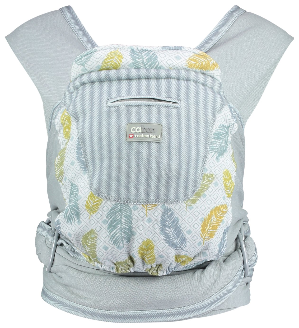 Image of Caboo + Cotton Blend Newborn Carrier - Fearne