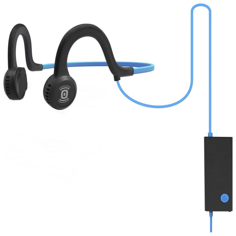 Image of Aftershokz Sportz Titanium Bone Conduction Headphones - Blue