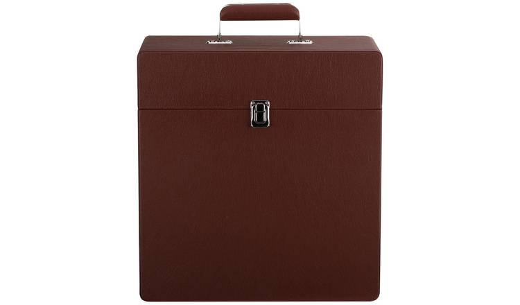 Bush Classic Retro Vinyl Case - Brown