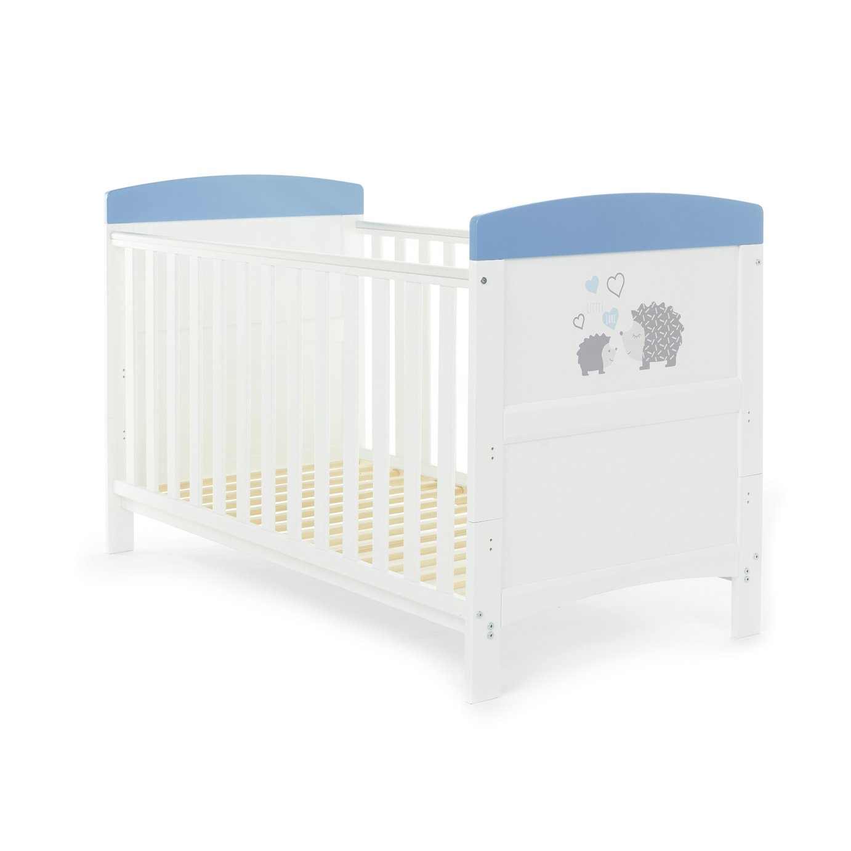 Obaby Hedgehog Cot Bed - Blue (Argos Exclusive)
