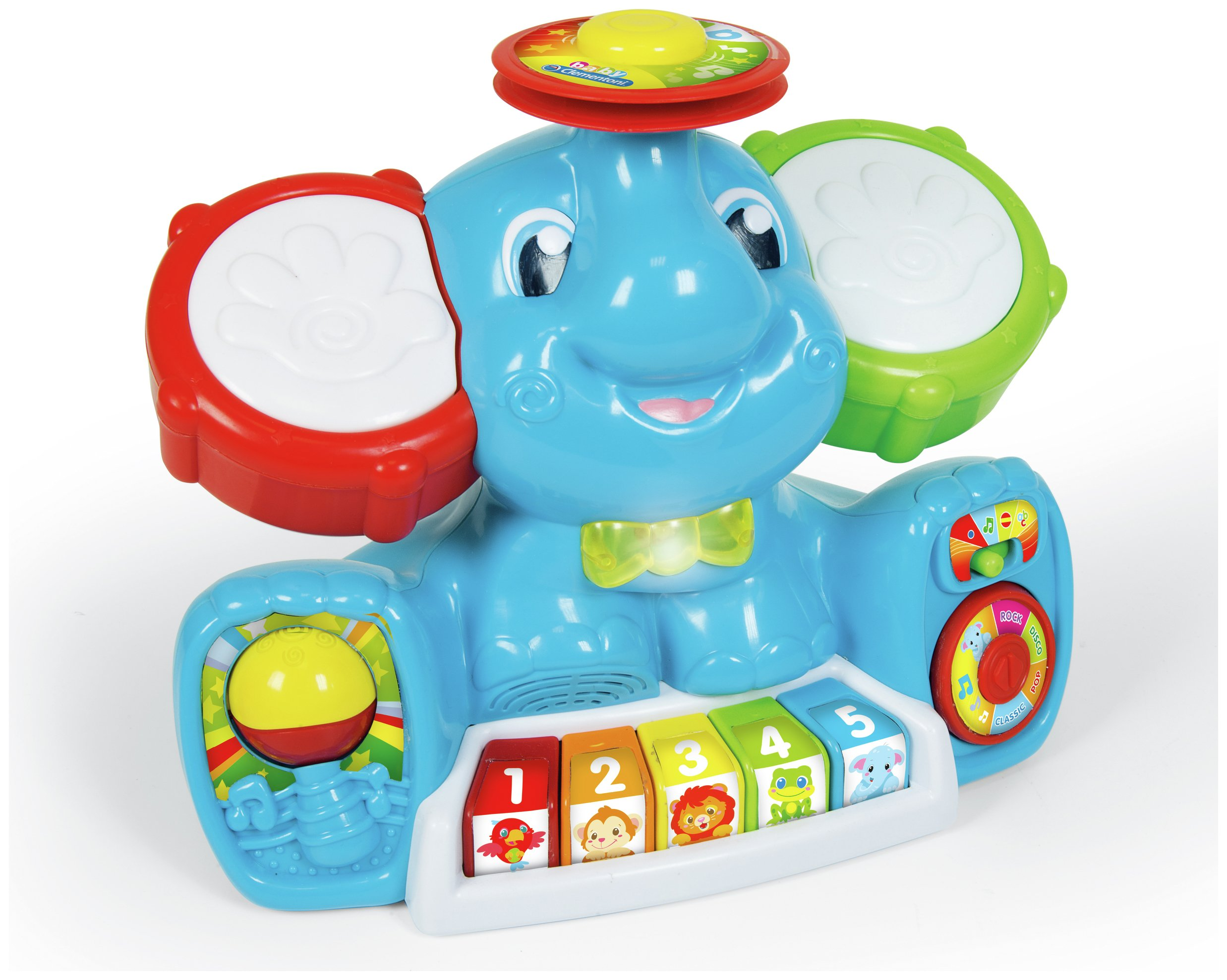 Image of Baby Clementoni Musical Elephant