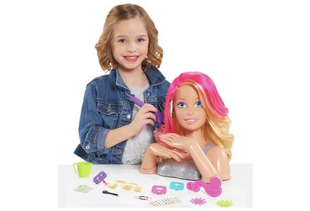 Barbie Flip & Reveal Styling Head