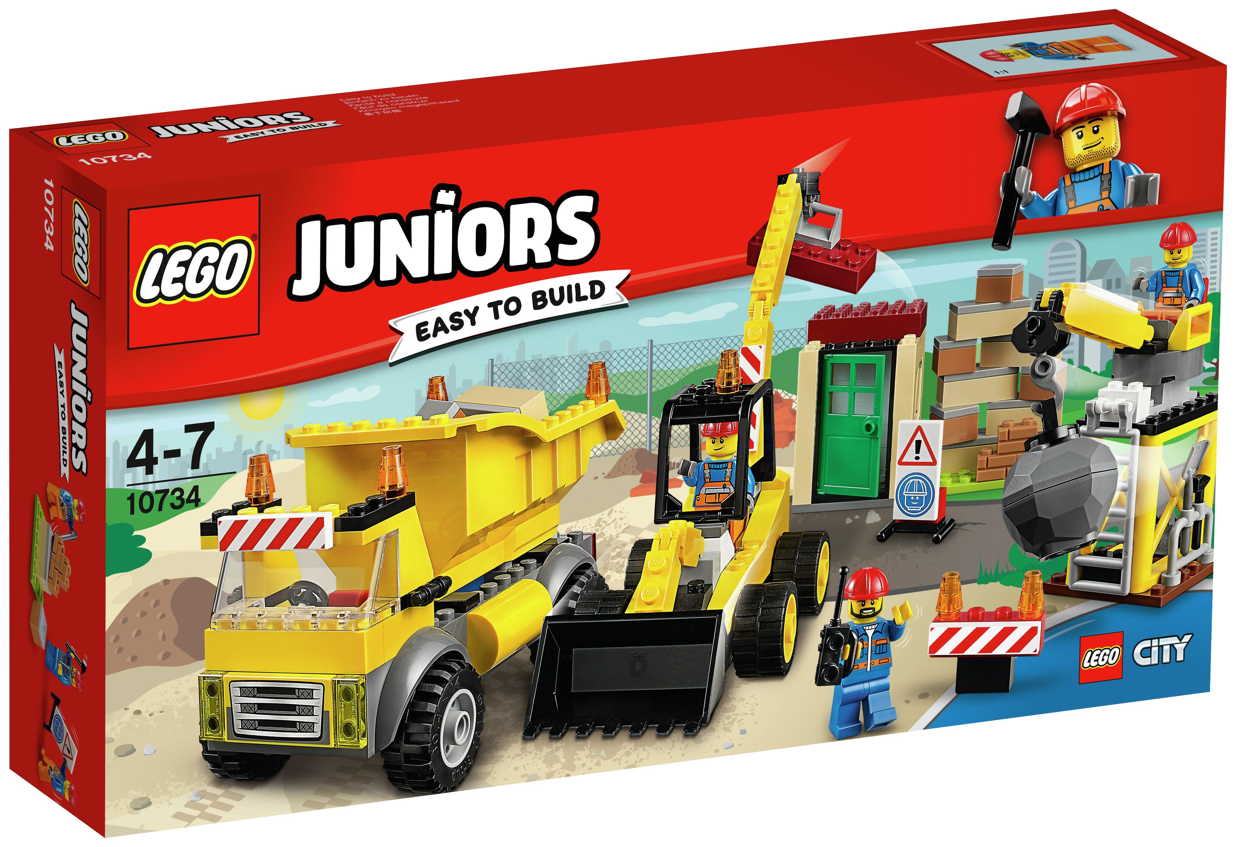 LEGO Juniors Demolition Site - 10734.