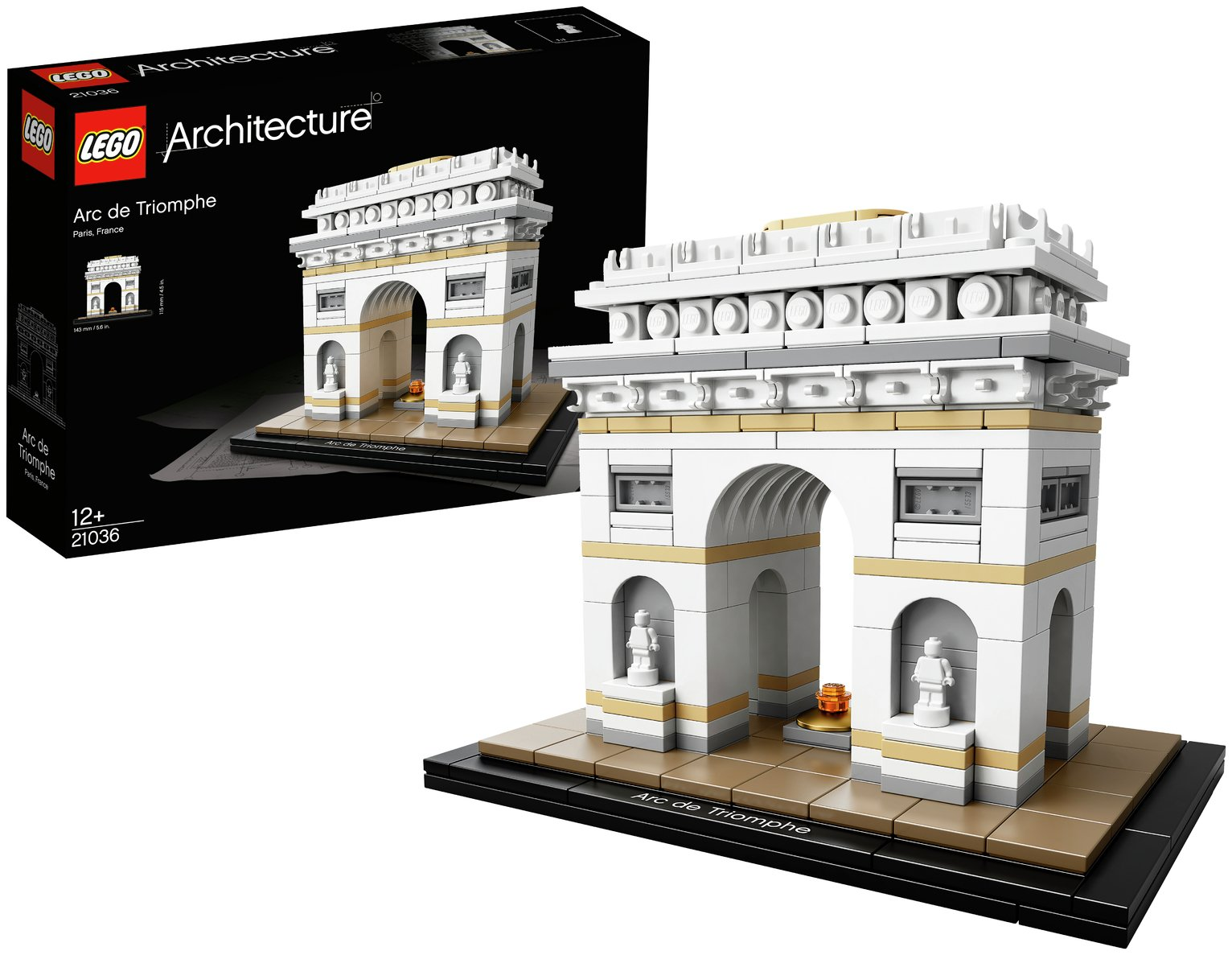 Image of LEGO Architecture Arc de Triomphe - 21036