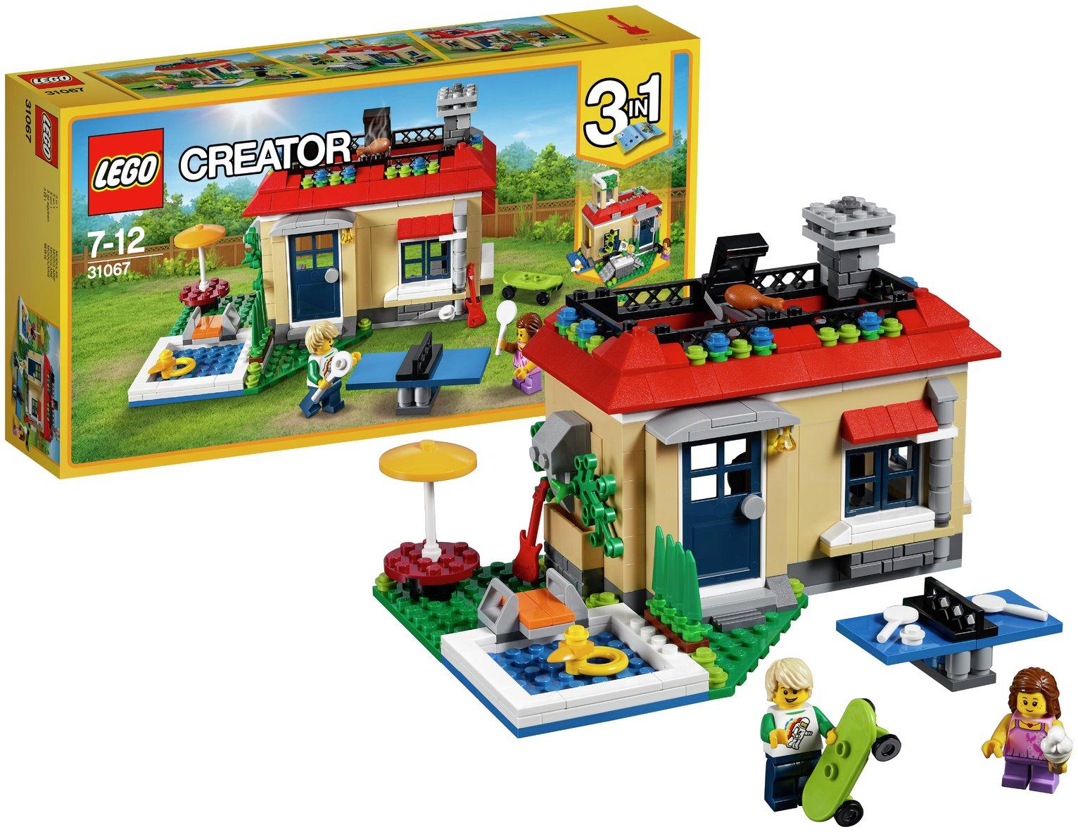 LEGO Creator Modular Poolside Holiday   31067.