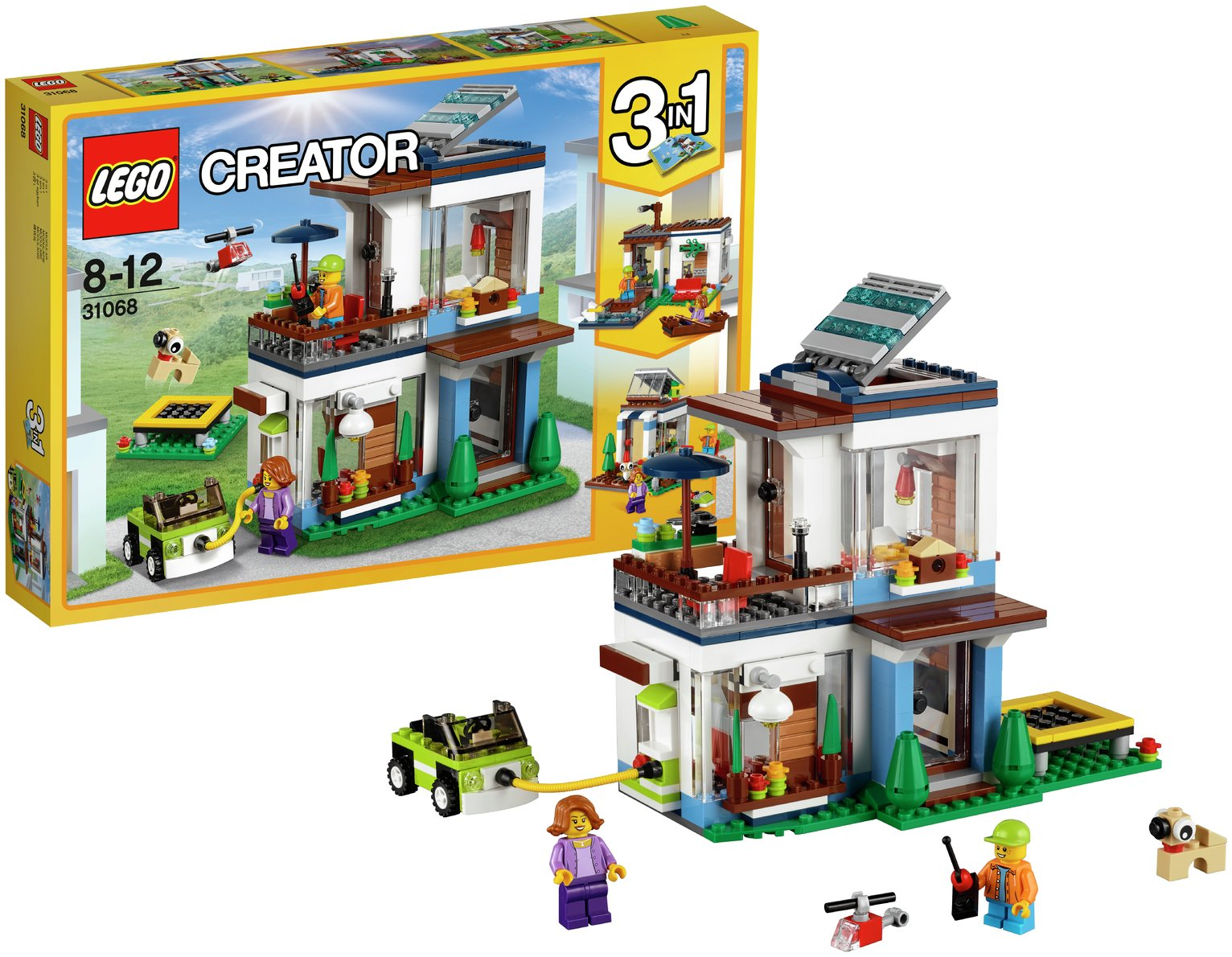 LEGO Creator Modular Modern Home   31068.