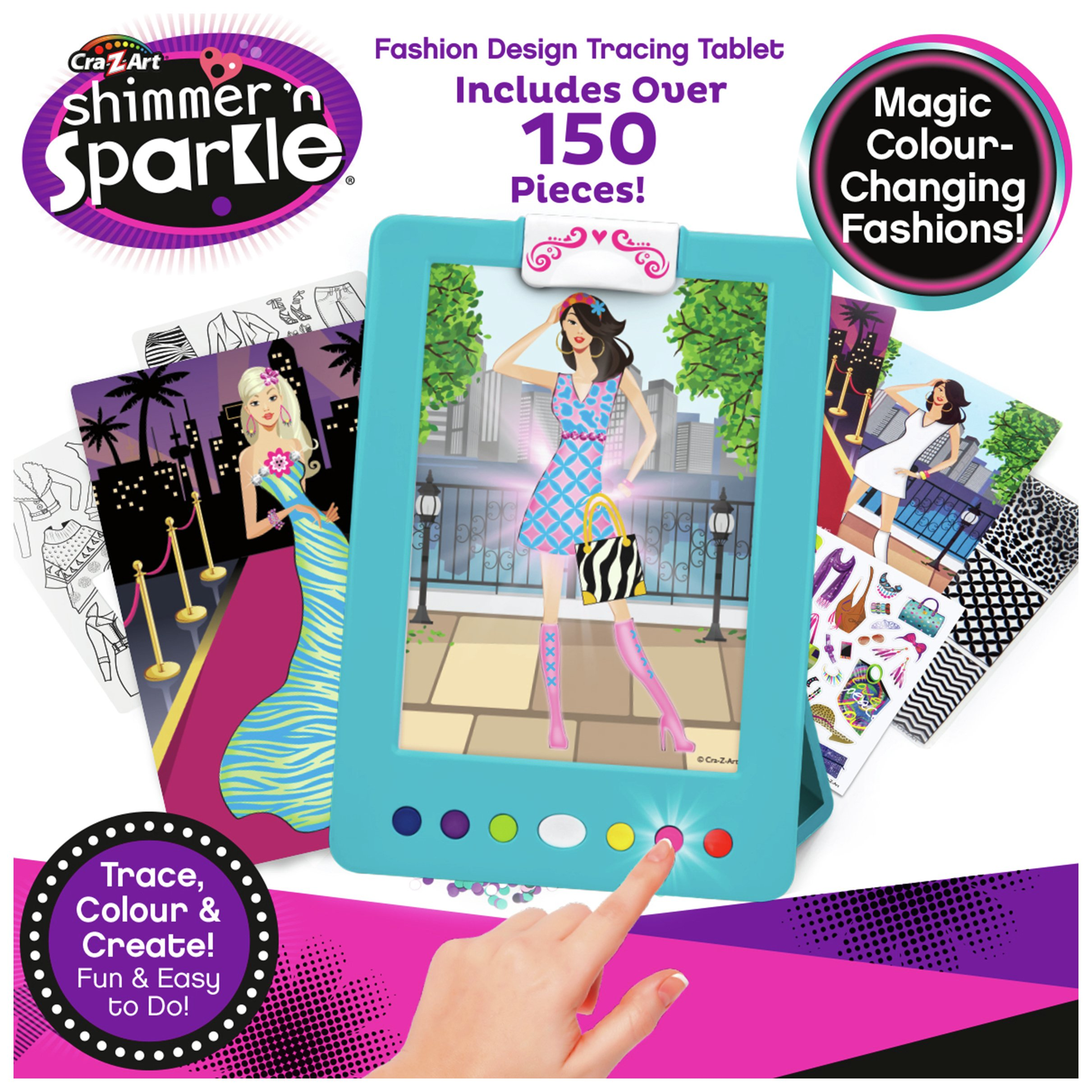 Shimmer 'N' Sparkle 2-in-1 Lite Up Fashion Studio