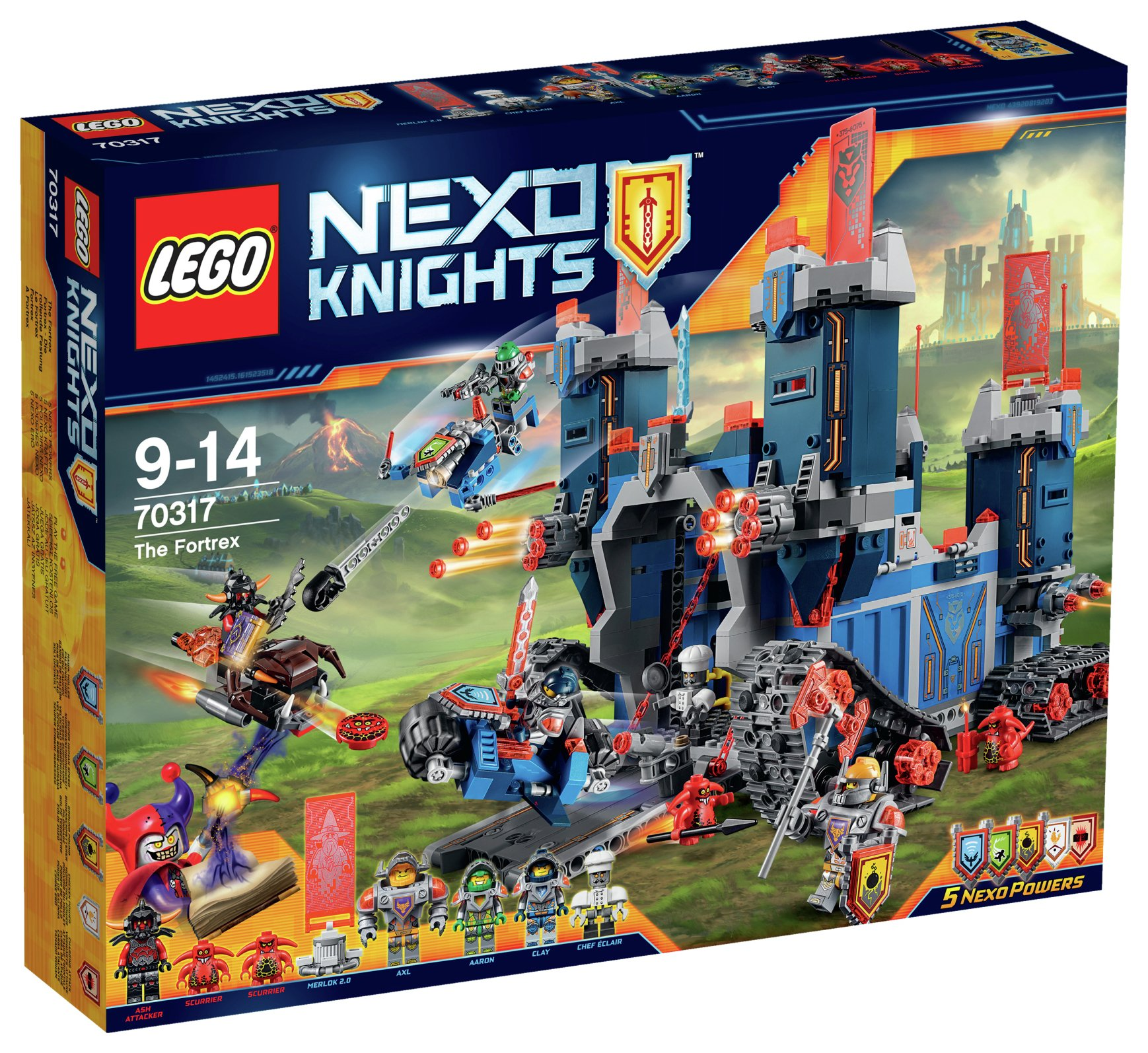 Image of LEGO Nexo Knights The Fortrex - 70317.