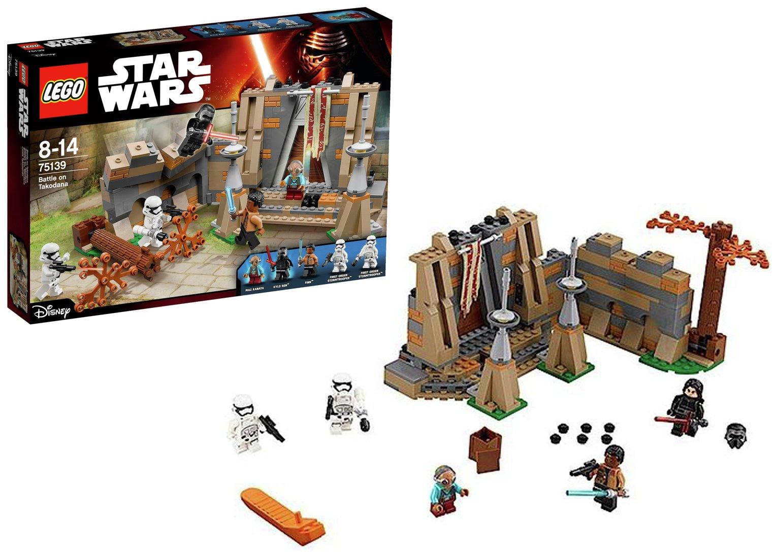 LEGO Star Wars Battle on Takodana - 75139.