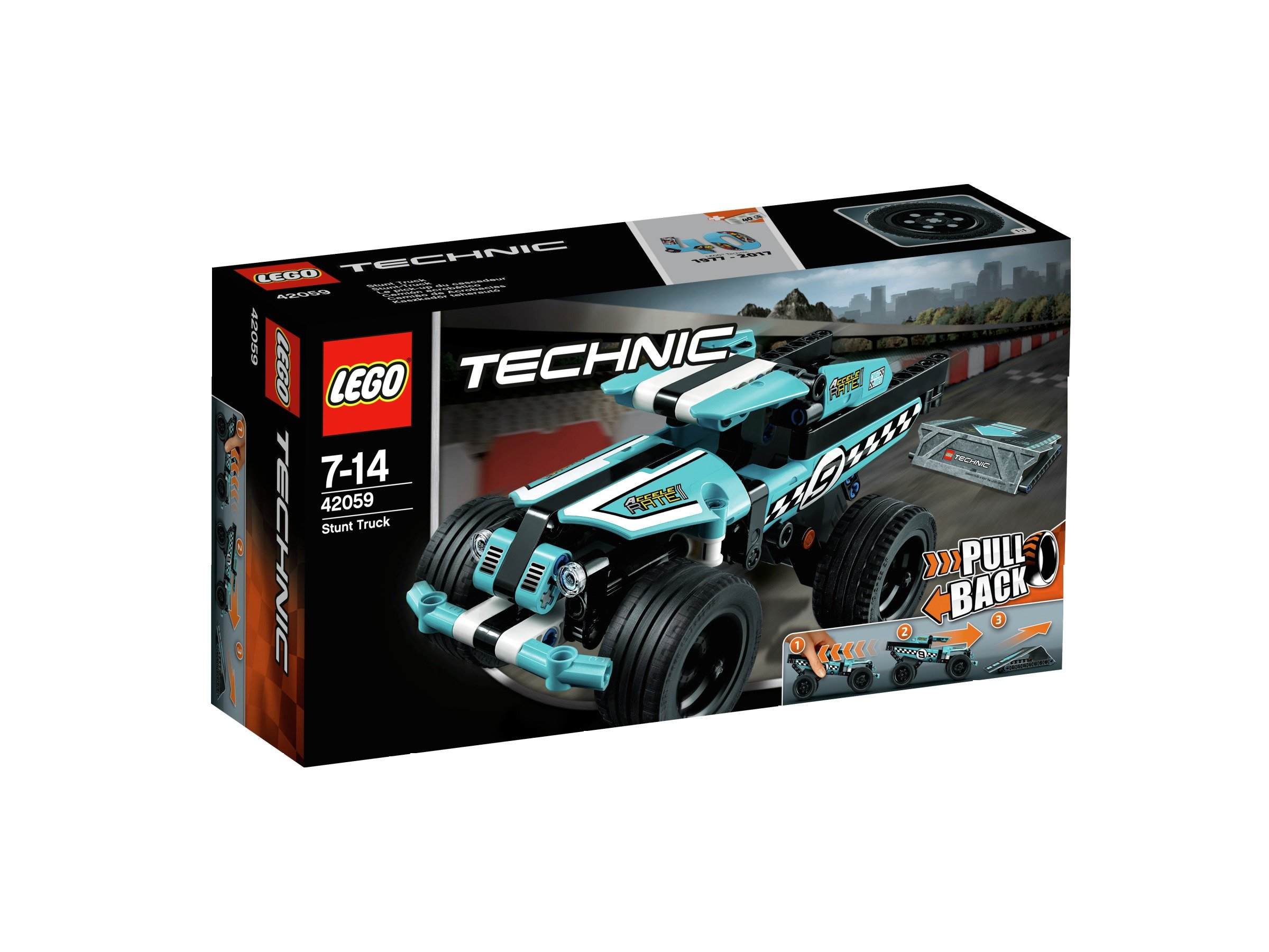 Image of LEGO Technic Stunt Truck -42059.