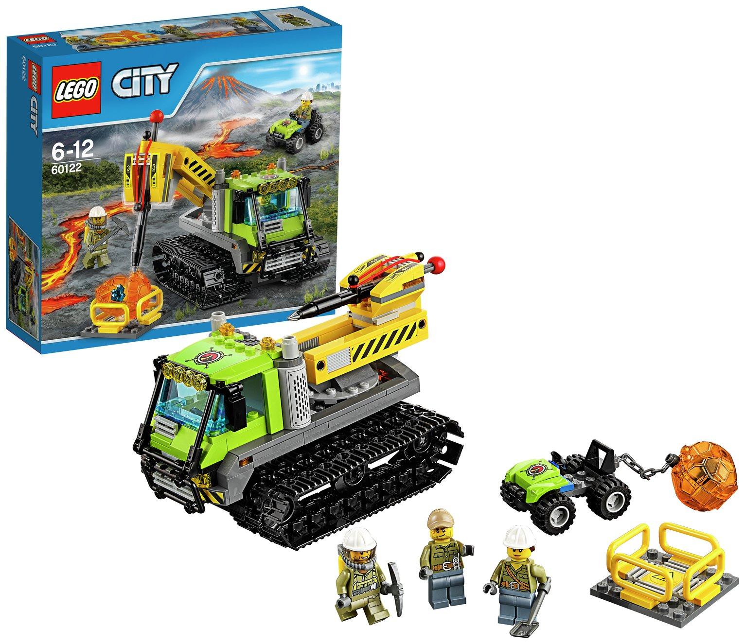 LEGO City Volcano Crawler - 60122.