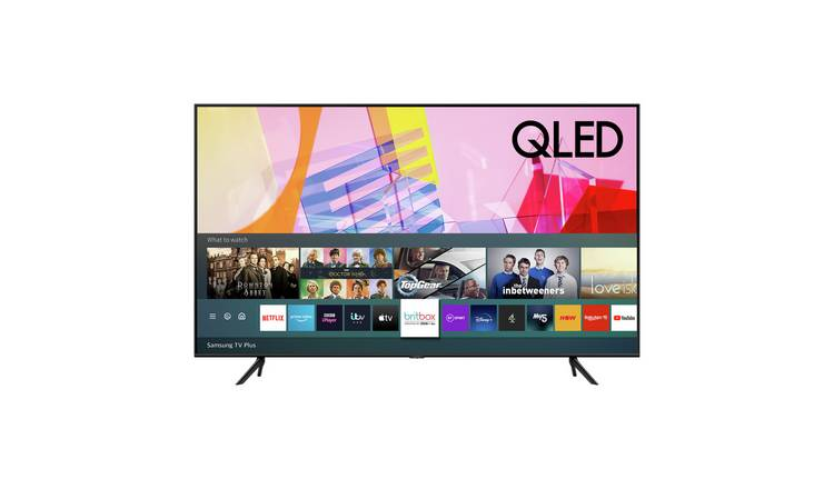 Samsung 50 Inch QE50Q60T Smart Ultra HD QLED TV with HDR
