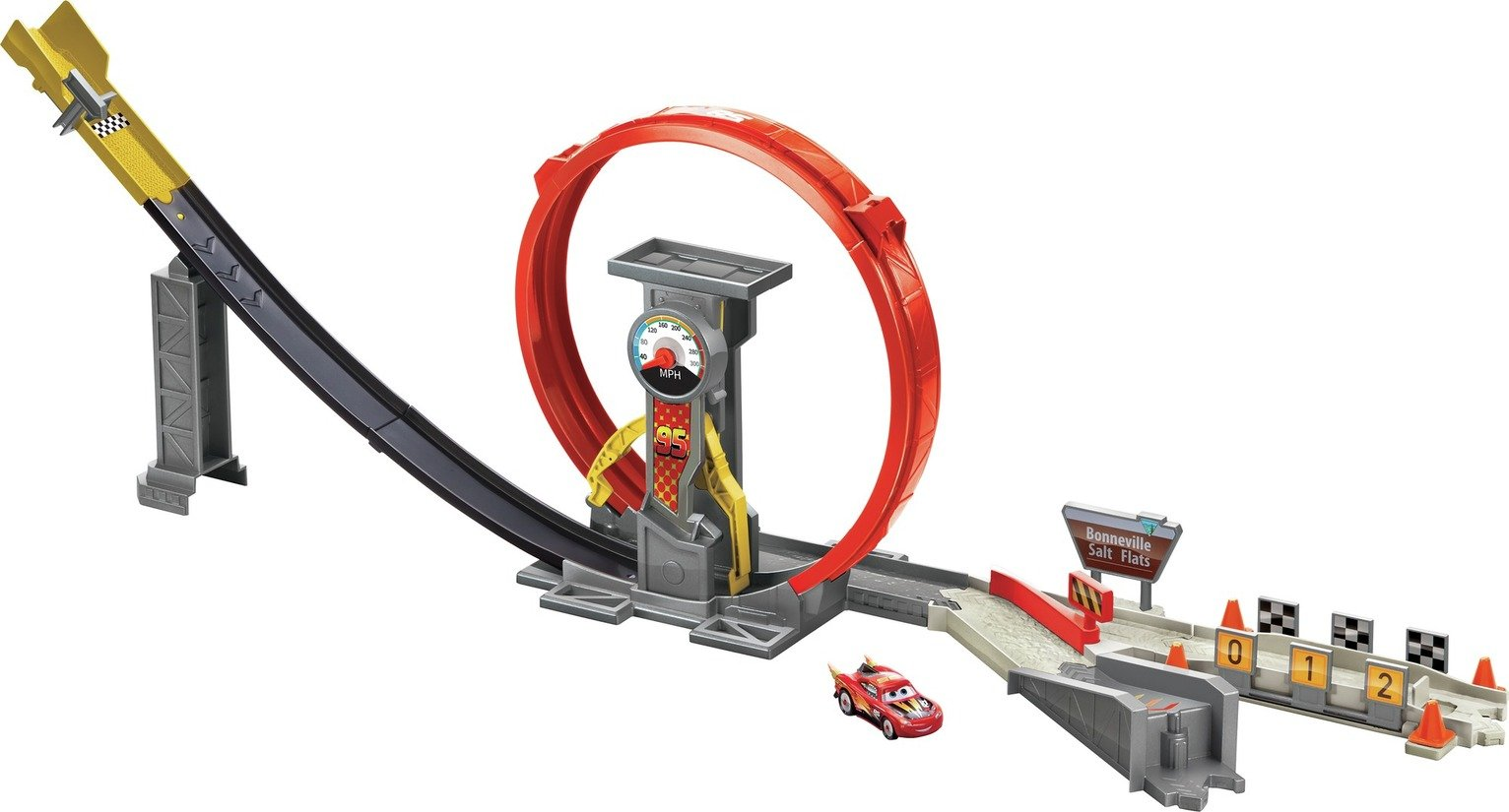 Disney Pixar Cars XRS Rocket Racing Trackset
