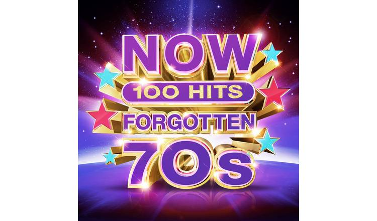 NOW 100 Hits Forgotten 70s CD