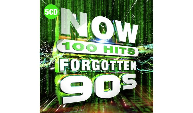 NOW 100 Hits Forgotten 90s CD