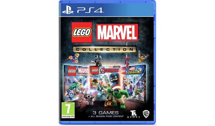 LEGO Marvel Collection PS4 Game Bundle