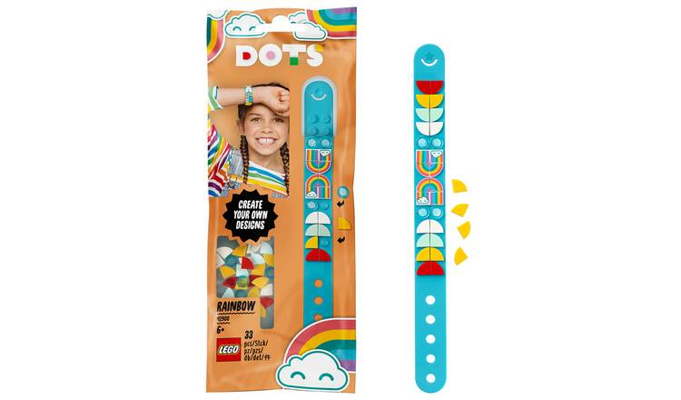 LEGO DOTS Rainbow Bracelet DIY Craft Set - 41900