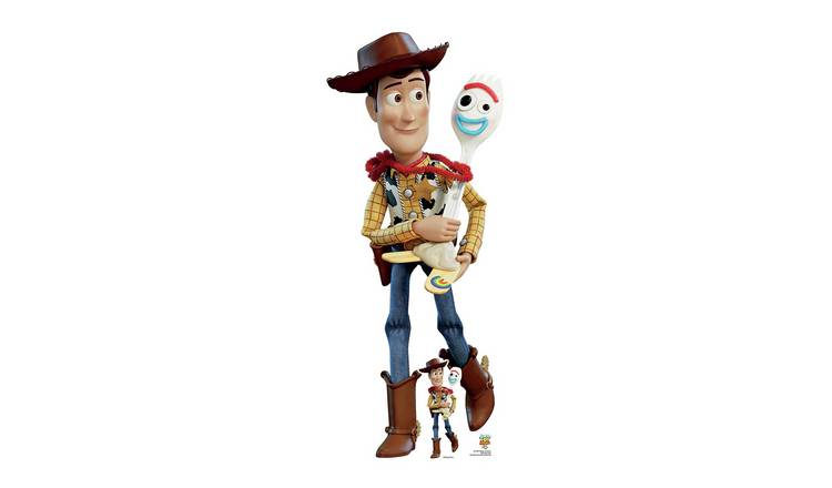 Star Cutouts Toy Story Woody & Forky Cardboard Cutout