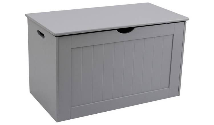 Argos Home Shaker Blanket Box - Grey