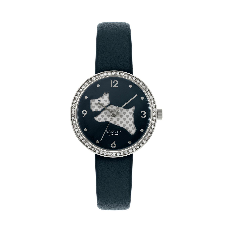 Radley London Ladies Blue Leather Strap Watch