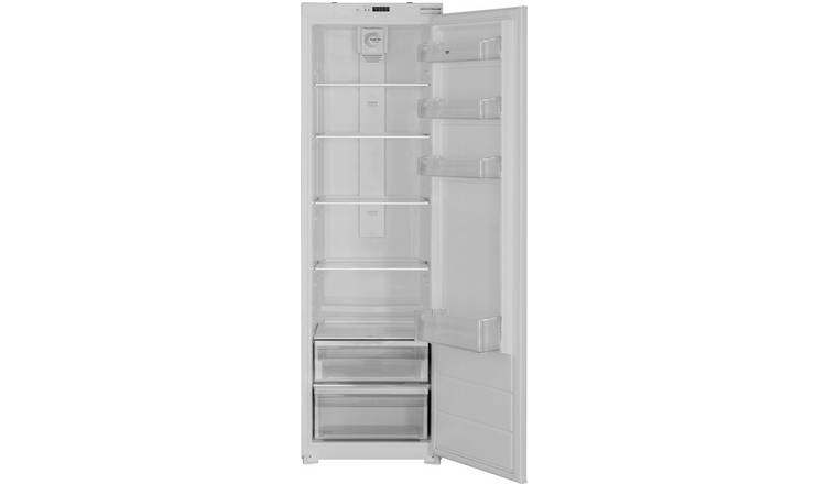 Bush MBI55177F Integrated Fridge - White