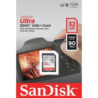 SanDisk Ultra UHS-I 90MB/s Micro SDHC Memory Card - 32GB