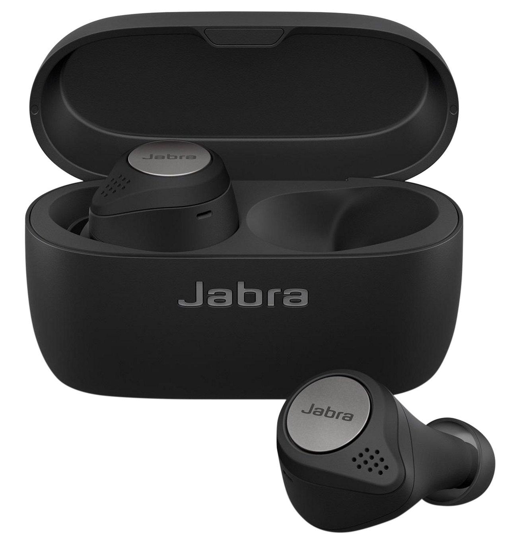 Jabra Elite Active 75t In-Ear True-Wireless Headphones-Black