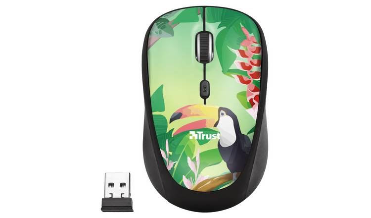 Trust Yvi Wireless Mouse - Green