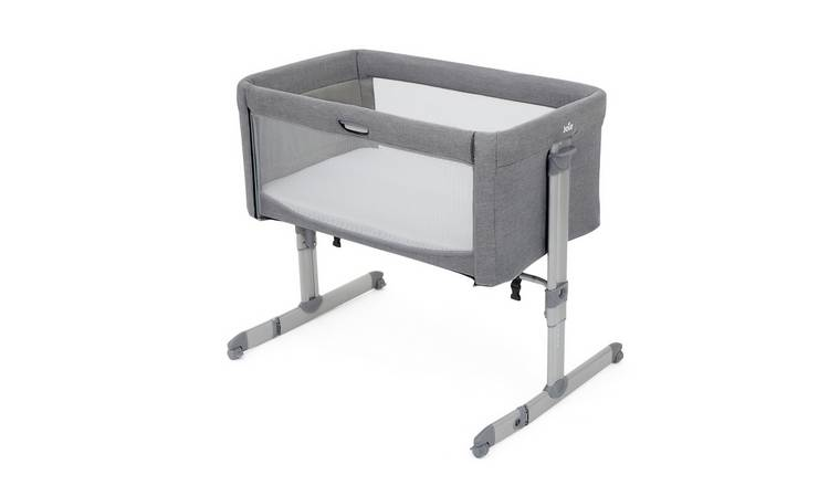 Joie Roomie Side Sleeping Crib - Grey Flannel