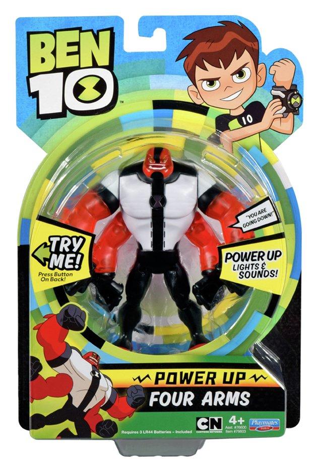 Image of Ben 10 Deluxe Power Up Action Figure Assortment