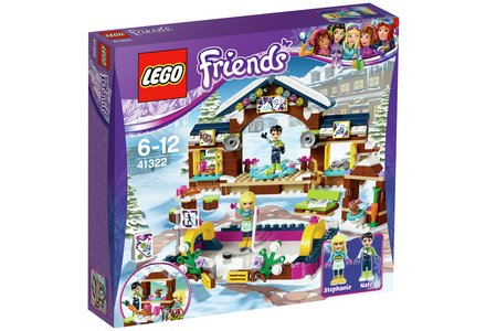 LEGO Friends Snow Resort Ice Rink - 41322.