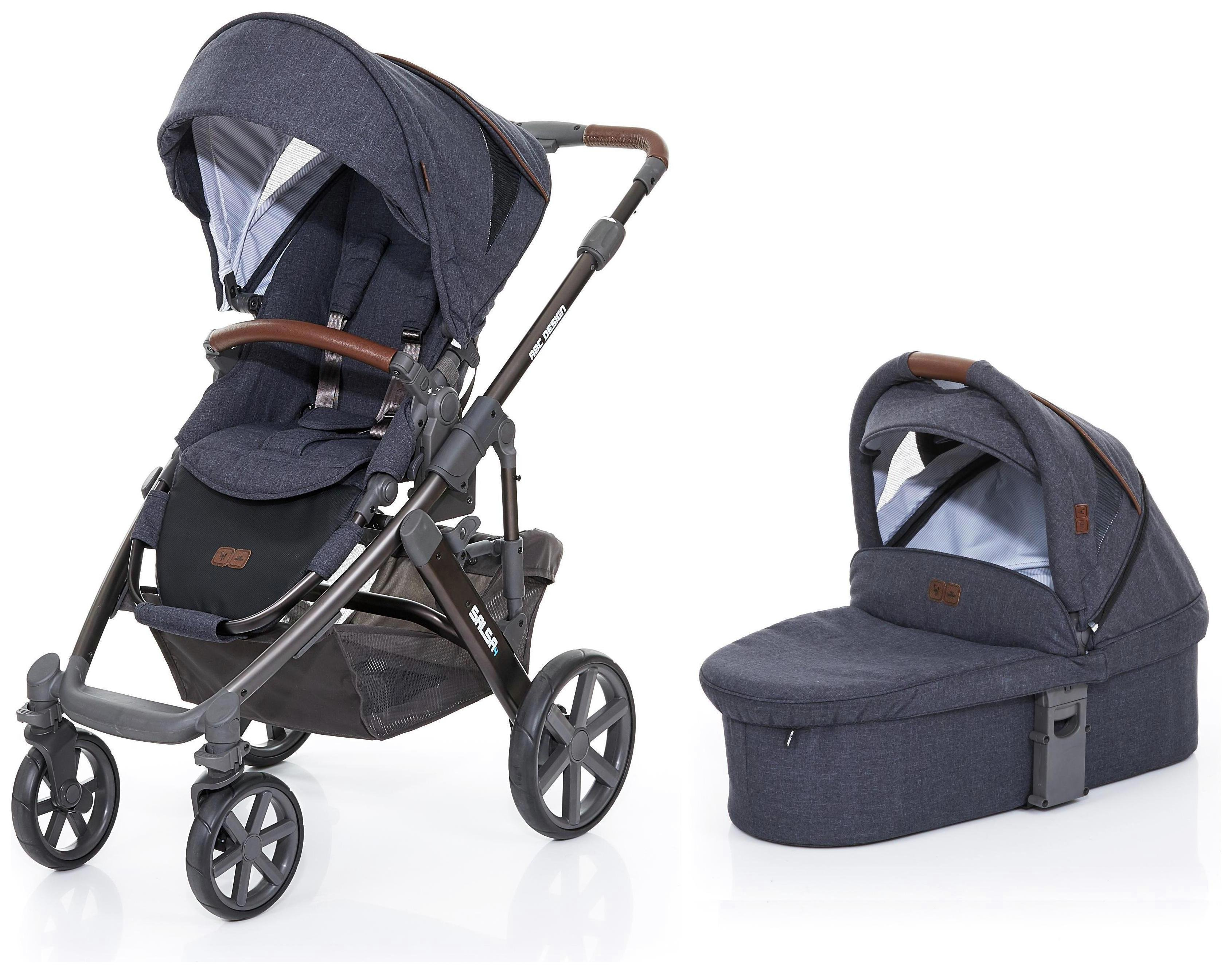 Image of ABC Design Salsa 2in1 Stroller & Carrycot - Street