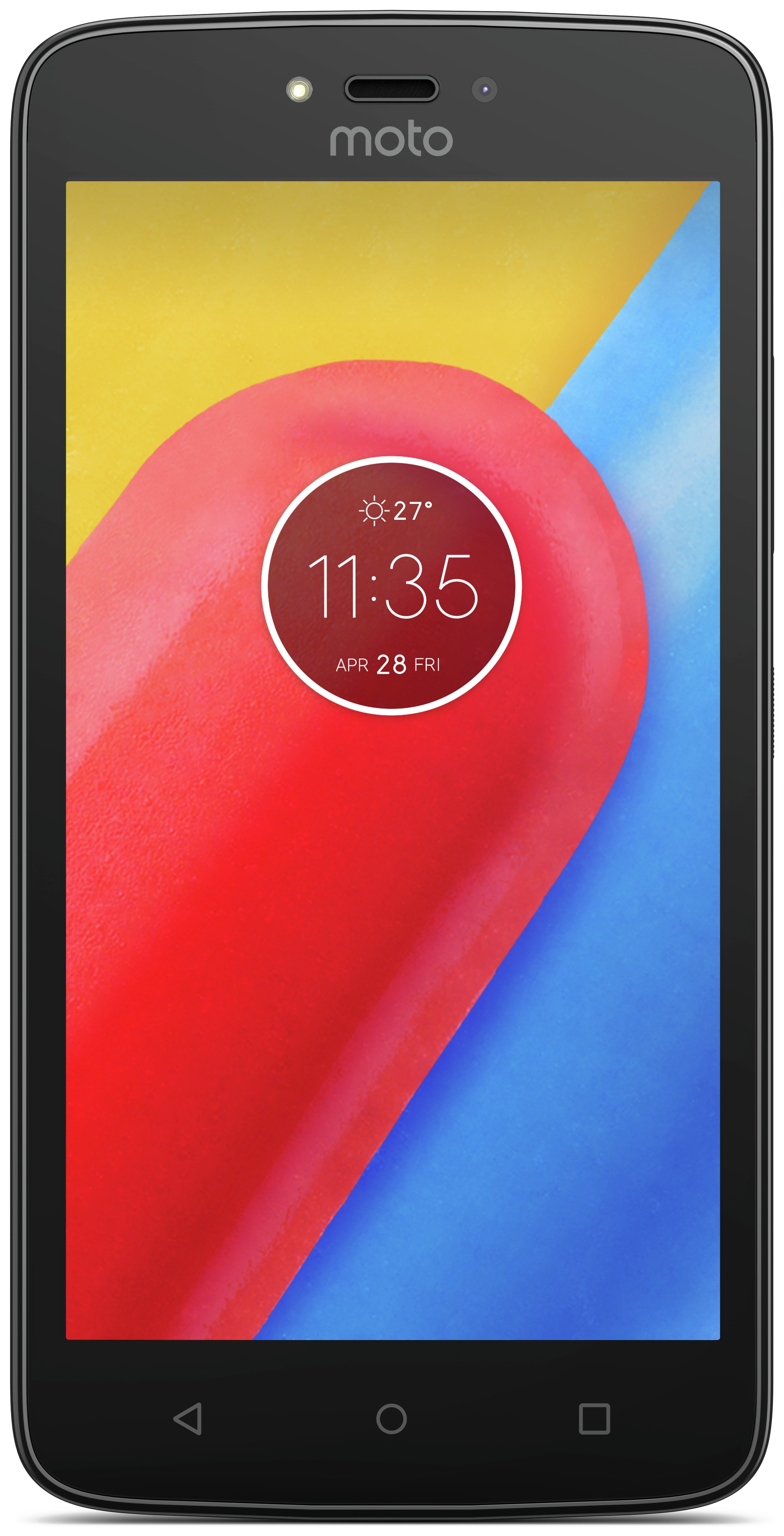 Sim Free Motorola Moto C Mobile Phone - Red
