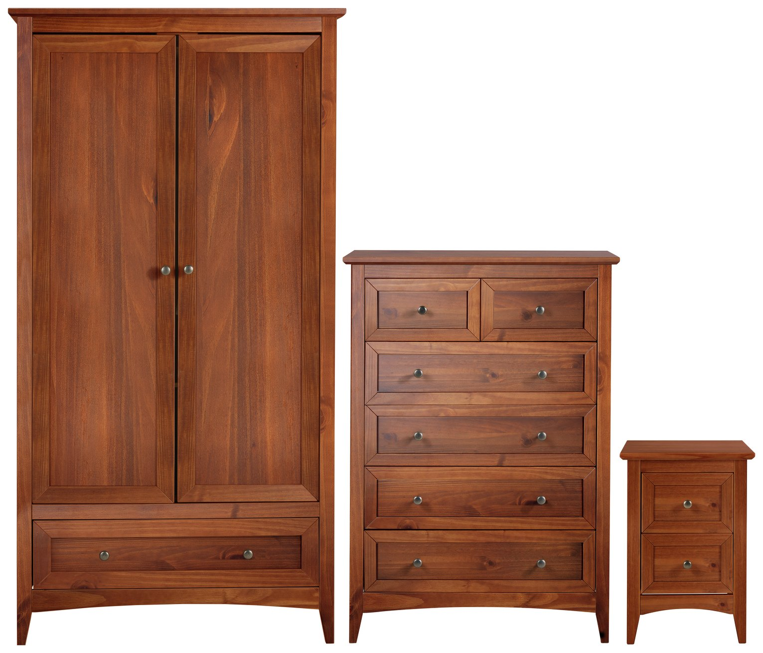 Image of Collection Camborne 3 Piece Package - Walnut Stain