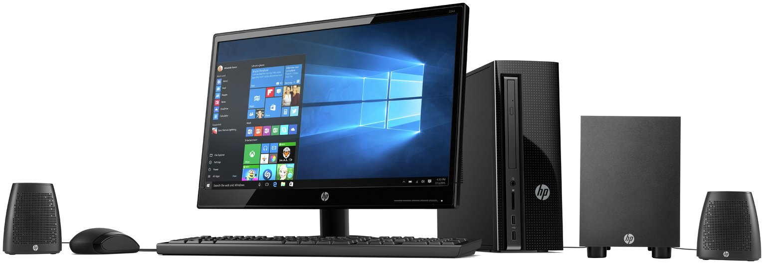 review of hp amd e2 22 inch 4gb 1tb desktop pc with speakers. Black Bedroom Furniture Sets. Home Design Ideas