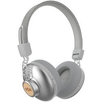 Marley Positive Vibration 2.0Wireless Headphones - Silver
