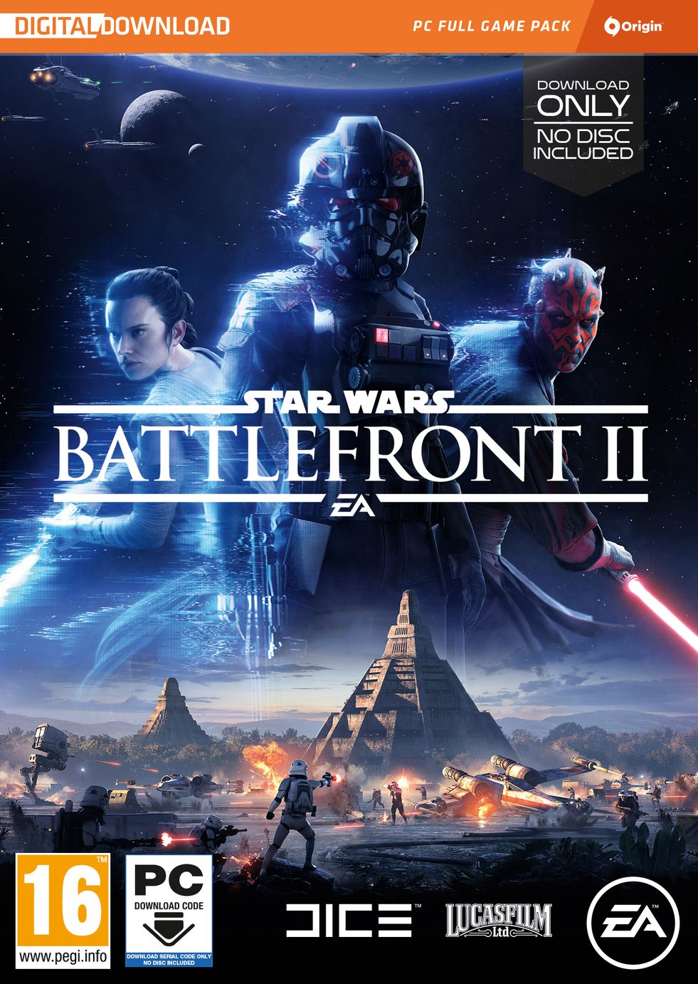 Image of Star Wars Battlefront II PC Game