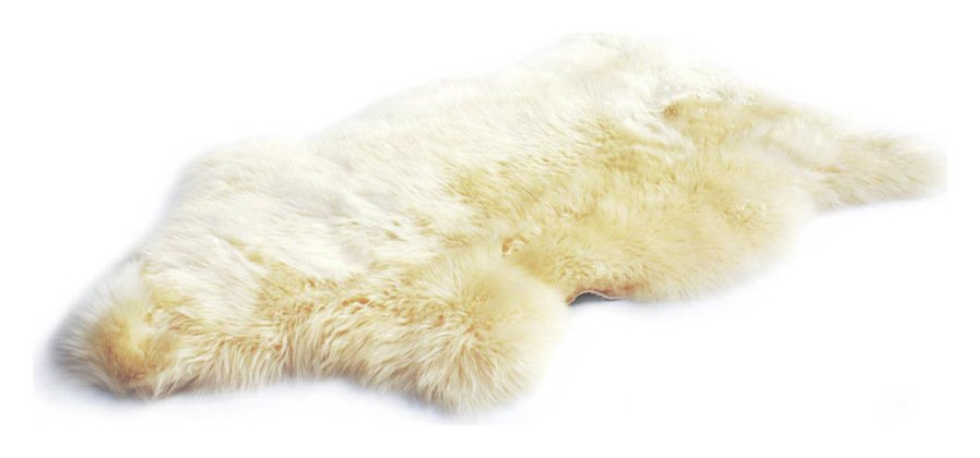 Image of Bowron Longwool Baby Rug - 48x80cm - Natural