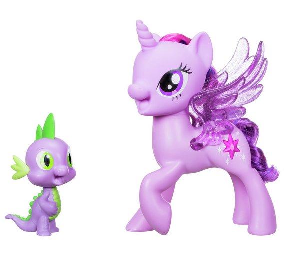 buy my little pony twilight sparkle spike the dragon duet animal