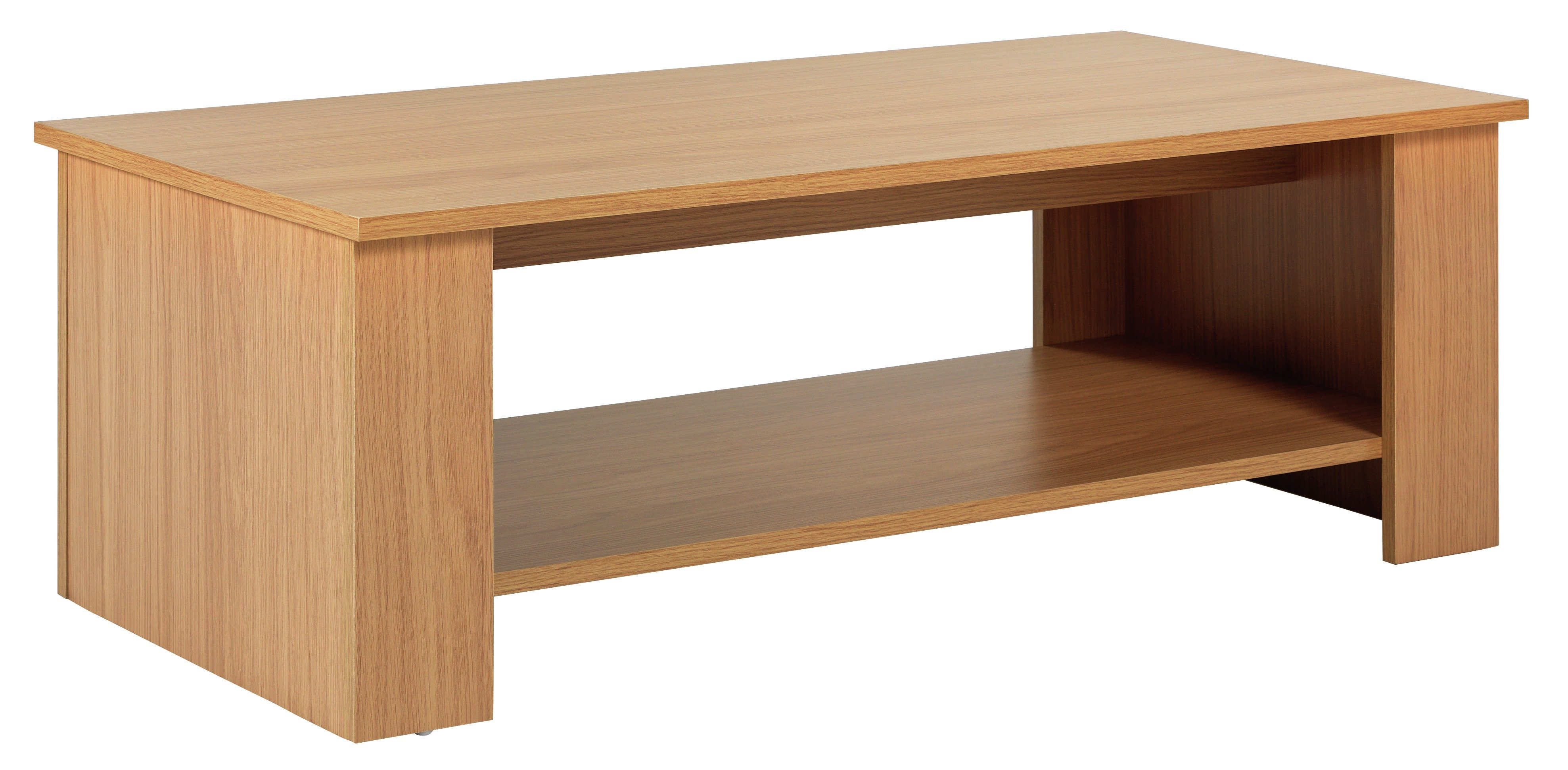 Image of HOME Hamilton Coffee Table - Oak Effect
