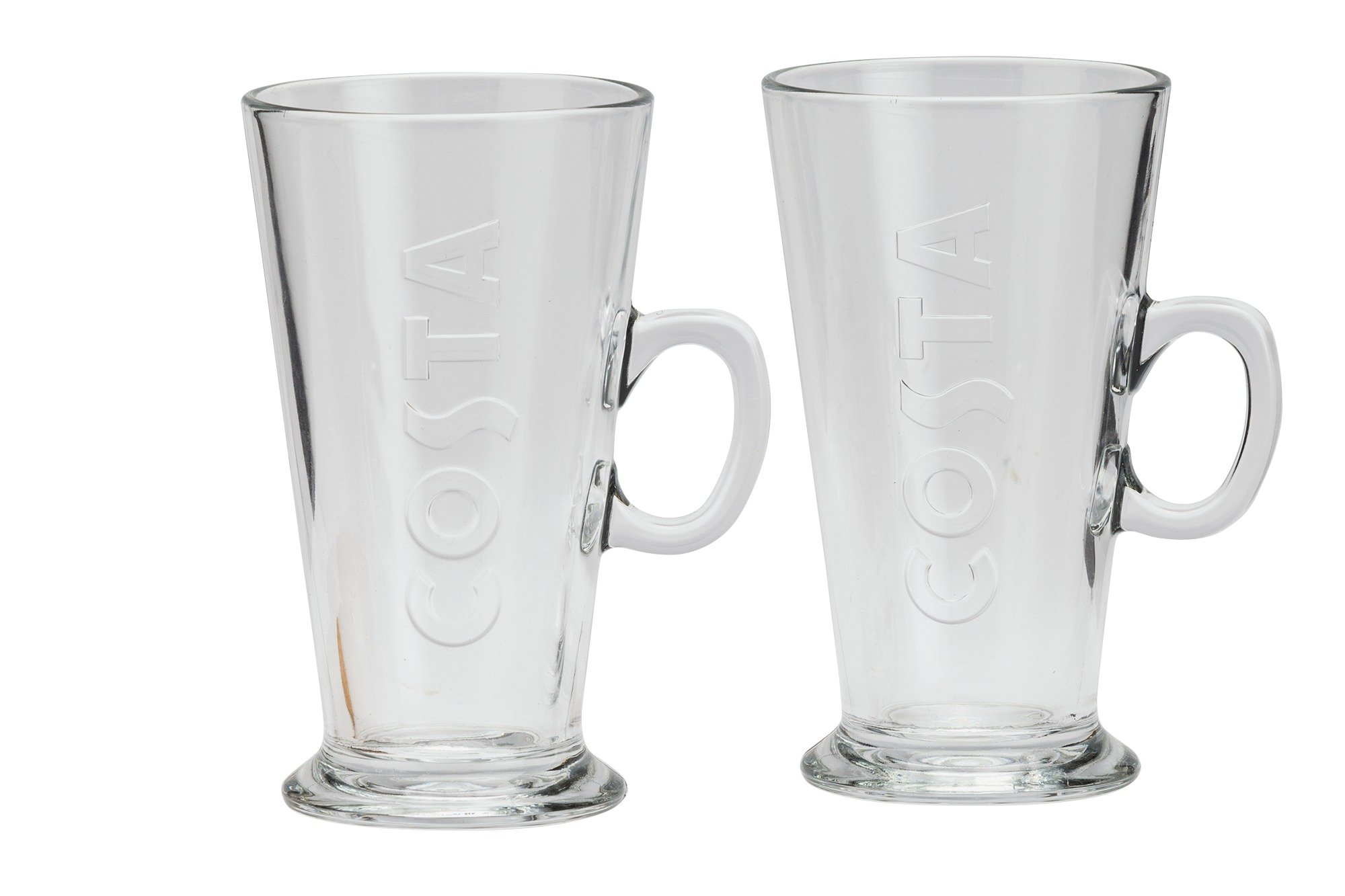 Image of Costa Latte Glasses - Set of 2