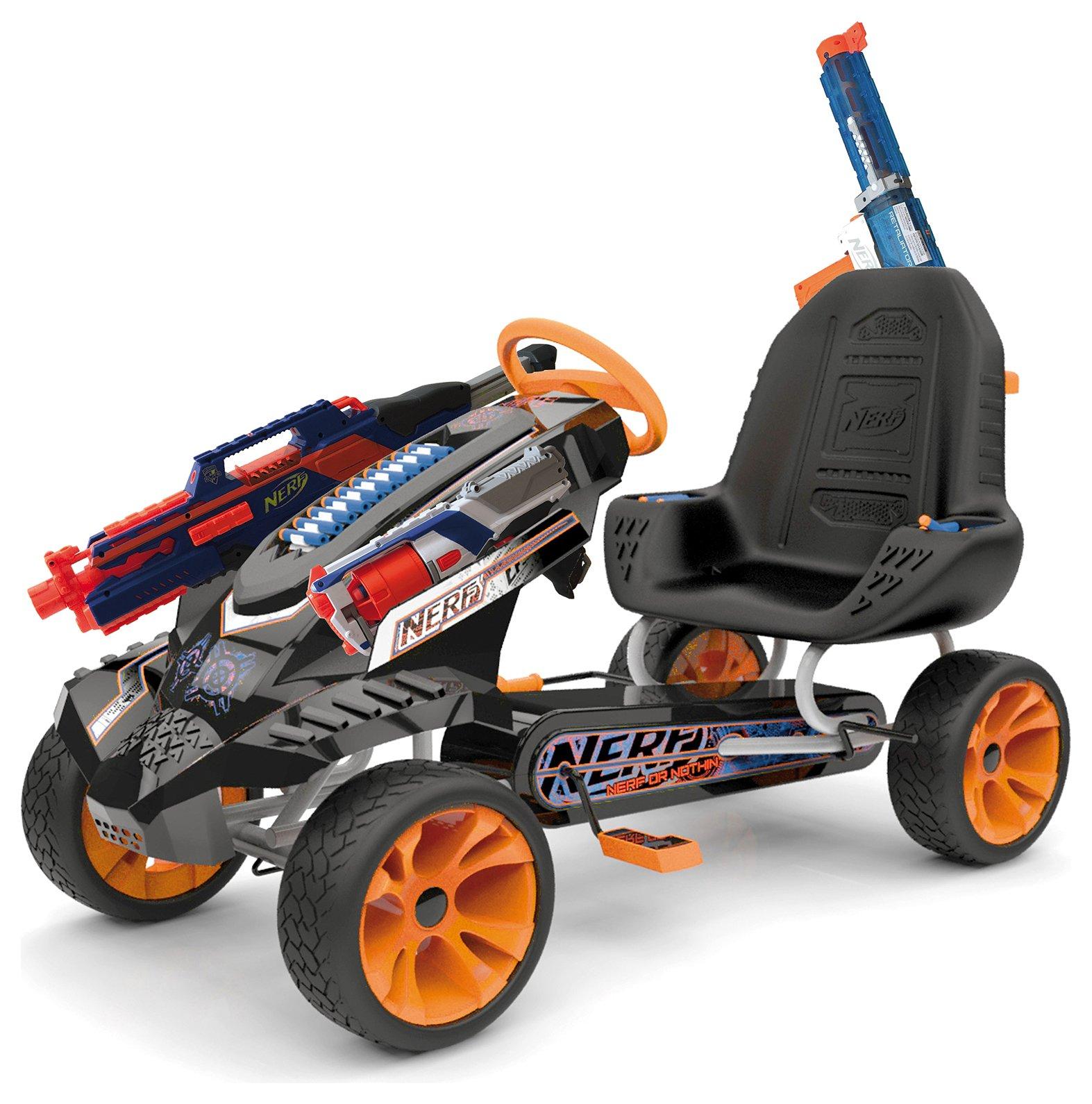 Nerf Battle Racer Pedal Go-Kart
