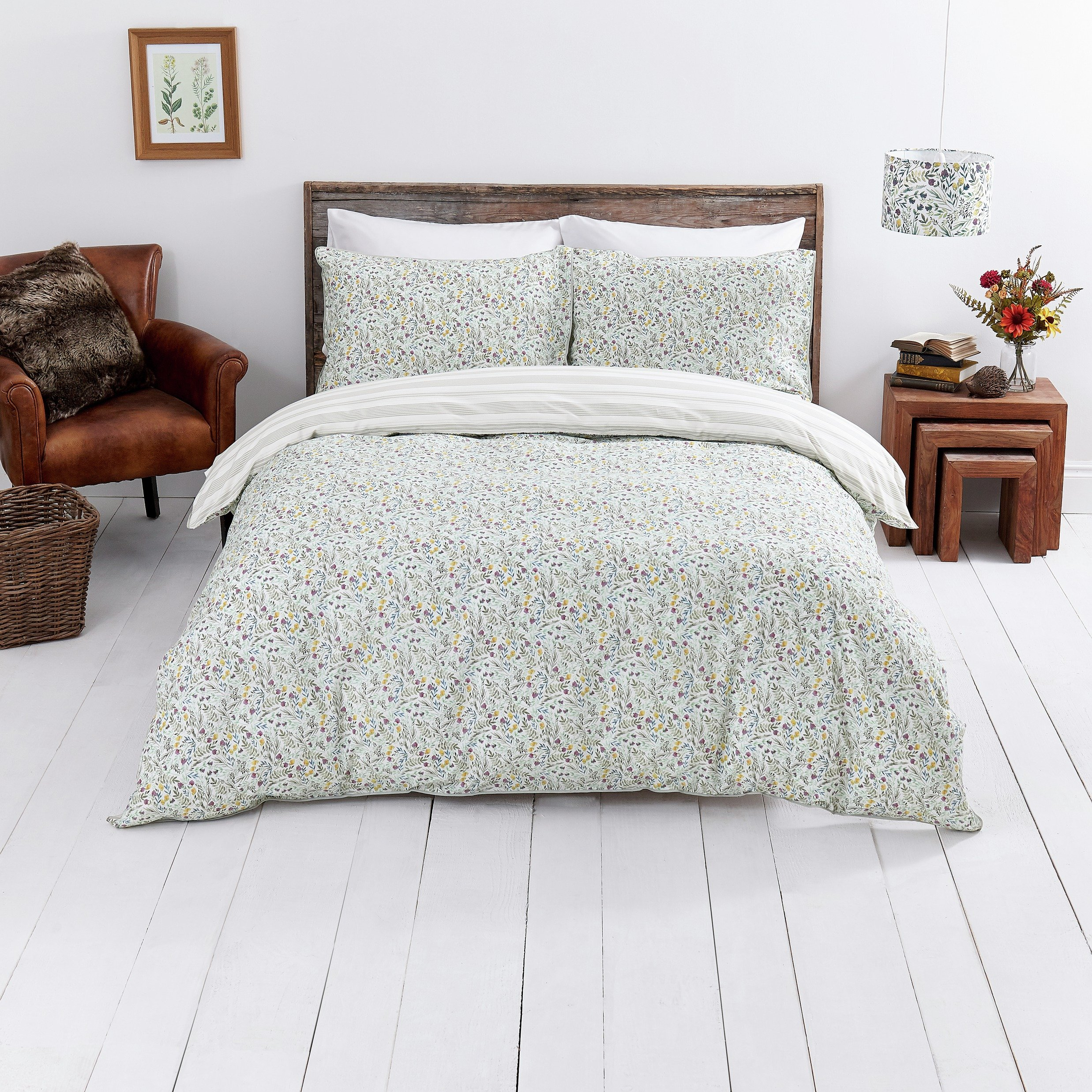 Sale On Sainsbury S Home Woodland Meadow Duvet Cover Set
