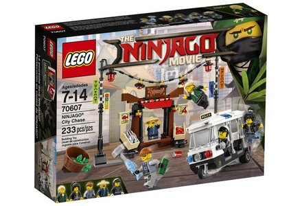 LEGO Ninjago Movie City Chase - 70607.