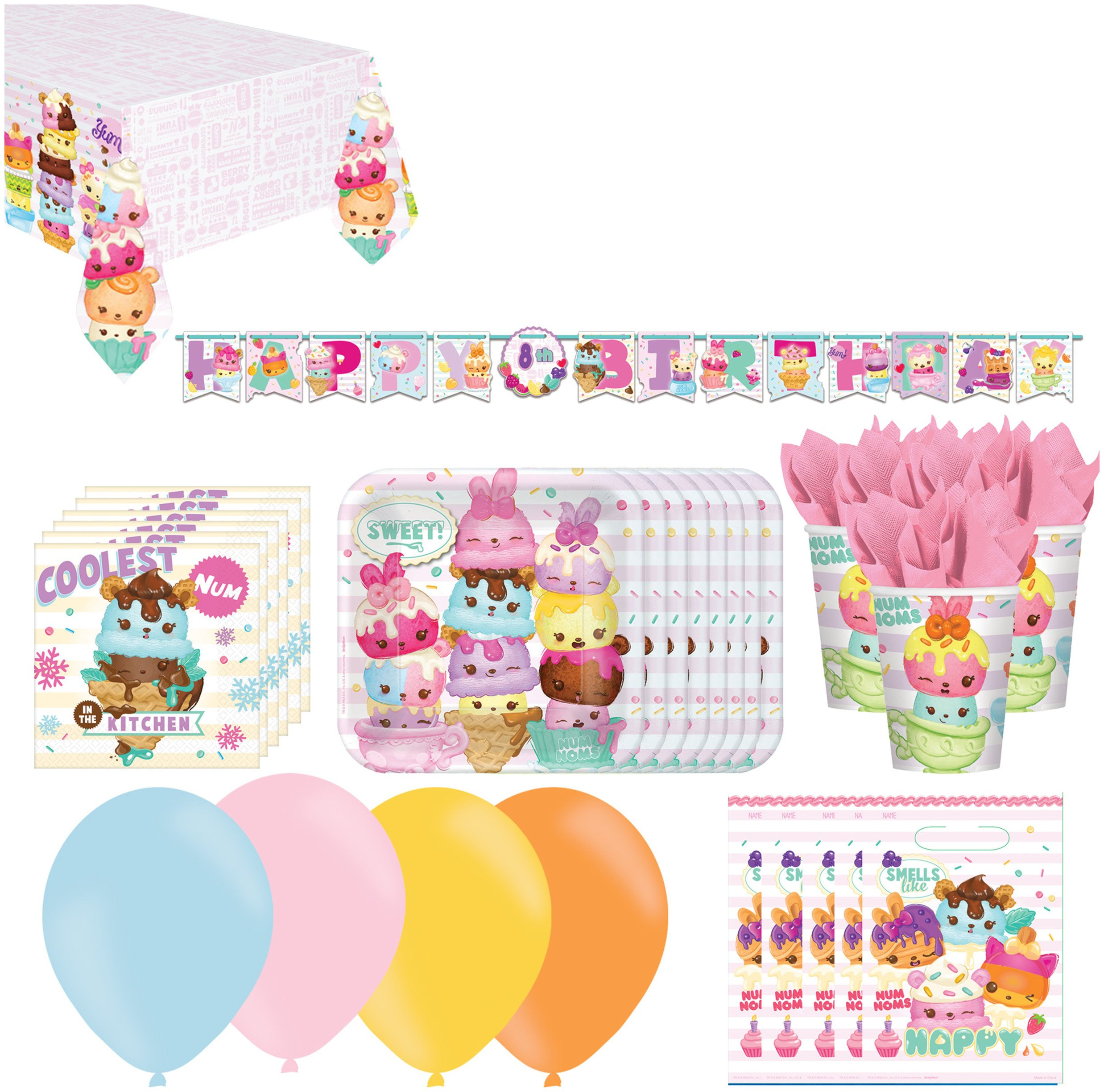 MGA Num Noms Party Pack for 16 Guests