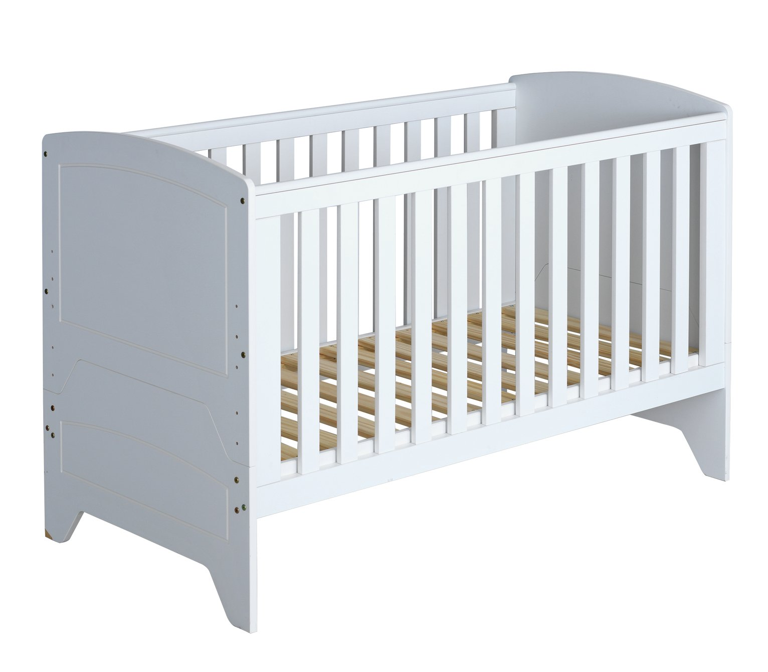 Cuggl Oxford Baby Cot Bed - White