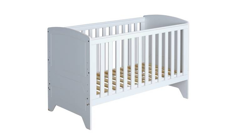 newest f6e56 09d6f Buy Cuggl Oxford Cotbed - White | Cots, cribs and cot beds | Argos