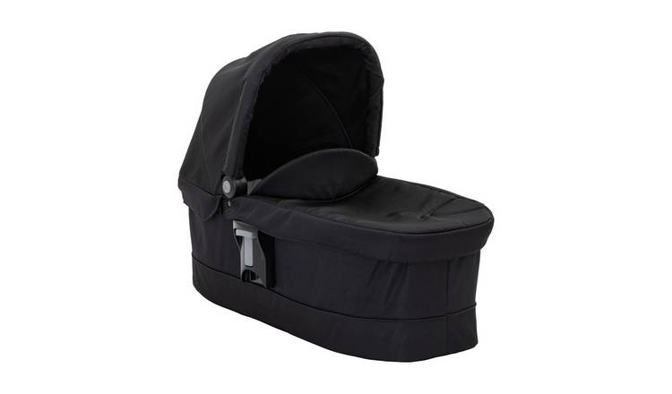 Graco EVO Luxury Carrycot - Black/Grey
