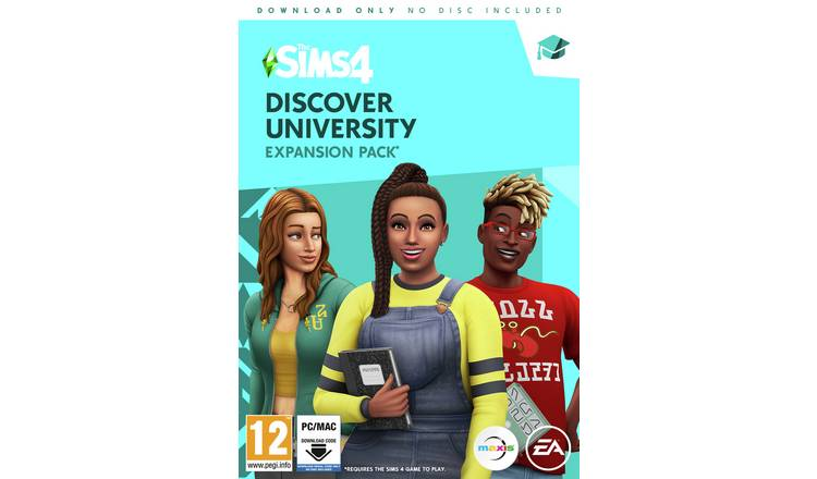 The Sims 4: Discover University Expansion Pack for PC